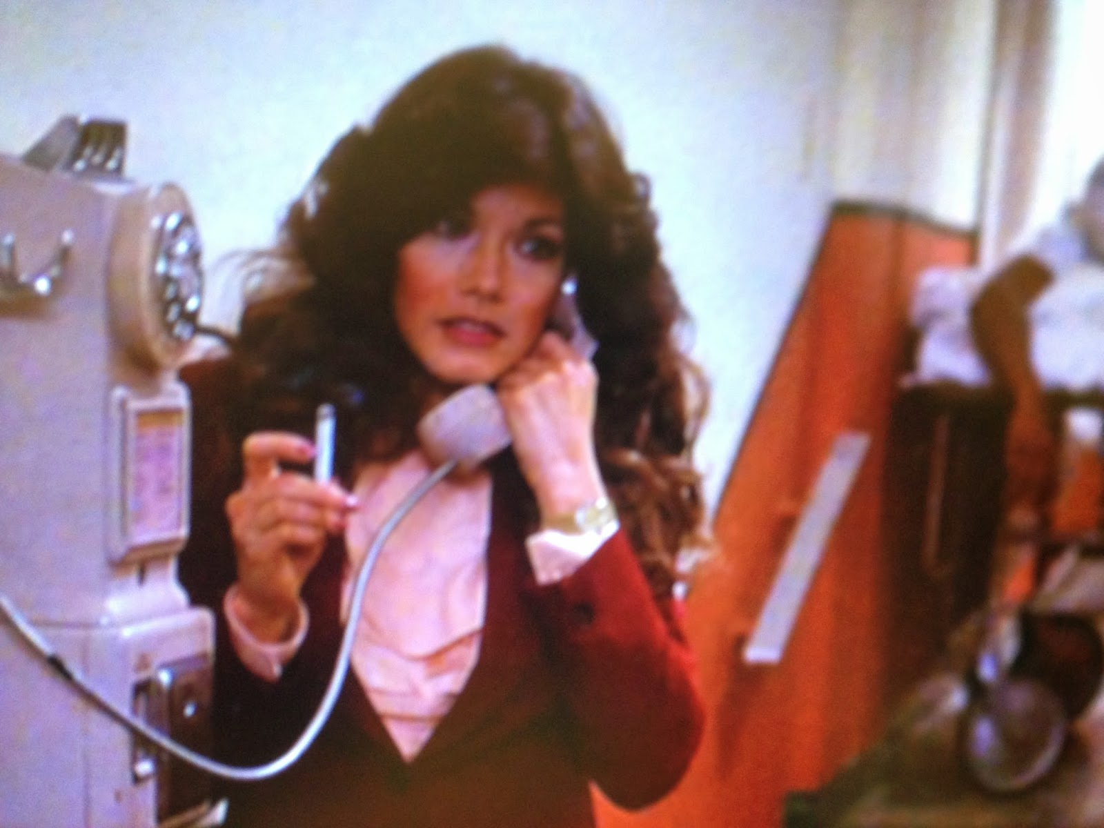 barbi benton smoking